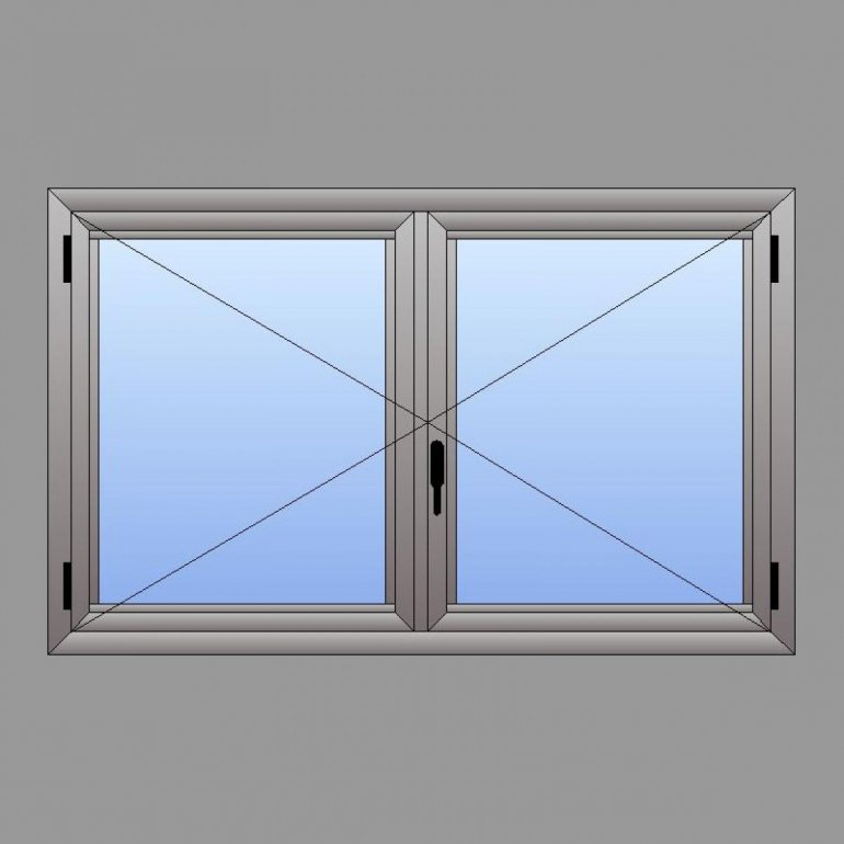 Cadre en Aluminium - Système Battant