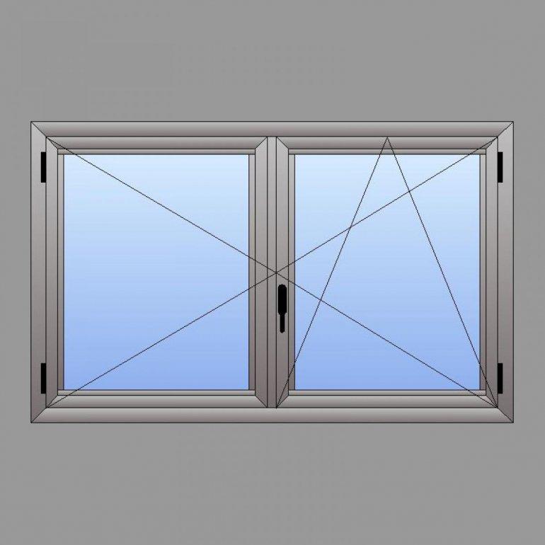 Cadre en Aluminium - Système Oscillo-Battant